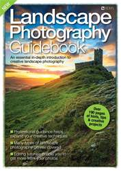 Landscape Photography Guidebook Magazine Cover