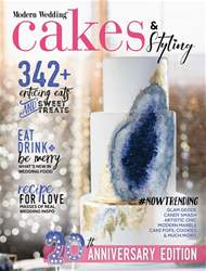 Modern Wedding issue Modern Wedding Cakes - Issue 20