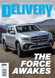 Delivery Magazine Magazine Cover