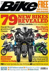 Bike issue January 2018