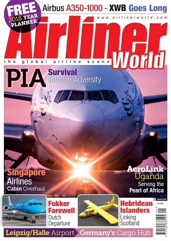 Airliner World issue  January 2018