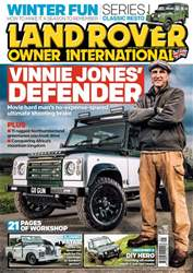 Land Rover Owner issue January 2018