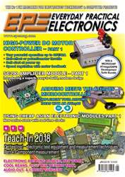 Everyday Practical Electronics issue Jan-18
