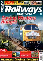 Railways Illustrated issue  January 2018