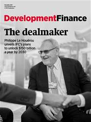 Development Finance Magazine Cover