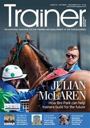 European Trainer Magazine - horse racing issue Issue 59 - October - December 2017