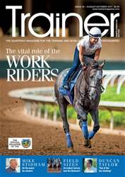 North American Trainer Magazine - horse racing Magazine Cover