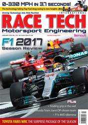 Race Tech Issue 206 January 2018 issue Race Tech Issue 206 January 2018