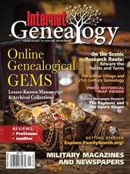 Internet Genealogy issue DecJan201718