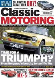 Classic Motoring issue January-18