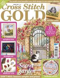 Cross Stitch Gold issue December 2017