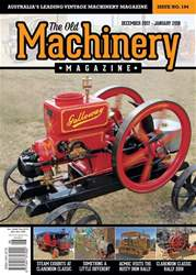 The Old Machinery Magazine issue Dec 2017 - Jan 2018