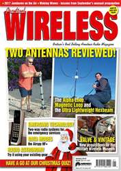 Practical Wireless issue January 2018