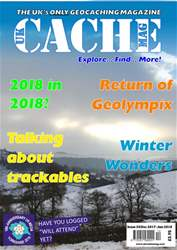 UK Cache Mag issue Issue 33 - Dec 2017 - Jan 2018