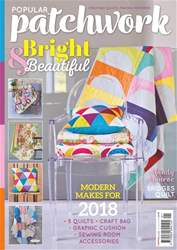 Popular Patchwork Magazine issue January 2018