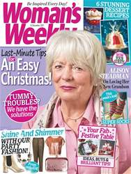 Womans Weekly issue 12th December 2017
