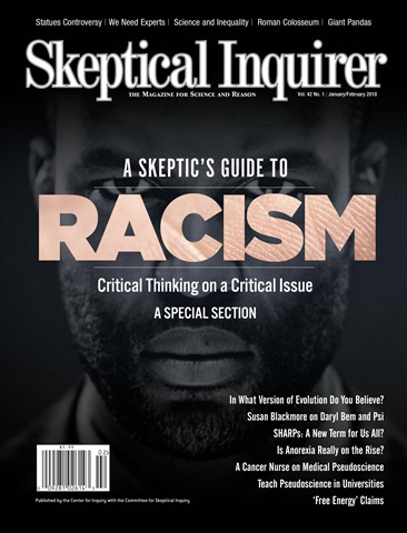 Skeptical Inquirer issue January February 2018