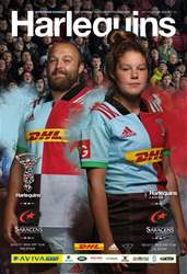 Harlequins V Saracens · Issue 7 issue Harlequins V Saracens · Issue 7