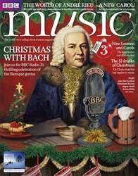 BBC Music Magazine issue Christmas 2017