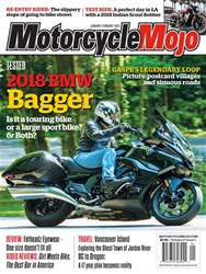 Motorcycle Mojo issue January/February18