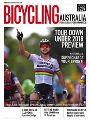 Bicycling Australia issue Jan-Feb 2018
