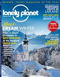 Lonely Planet Traveller (UK) issue January 2018