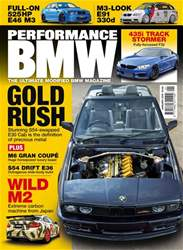 Performance BMW issue January 18
