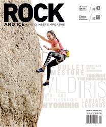 Rock and Ice issue January 2018, #247