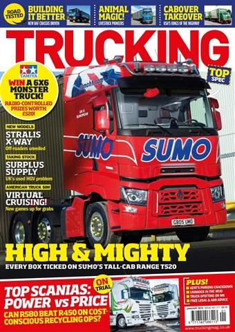 Trucking Magazine issue January 2018