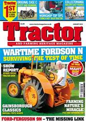 Tractor & Farming Heritage Magazine issue January 2018