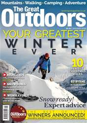 TGO - The Great Outdoors Magazine issue January 2018