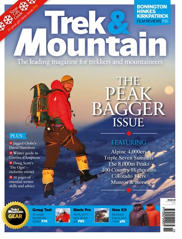 Trek & Mountain Magazine issue Nov-Dec 17