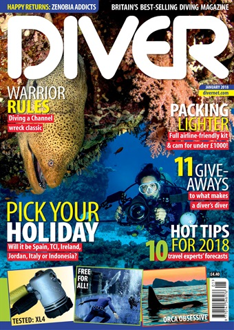 DIVER issue JANUARY 2018