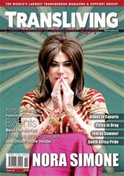 Transliving Magazine Magazine Cover