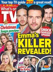 What's on TV Magazine Cover