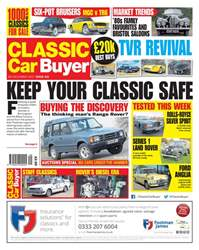 Classic Car Buyer issue 06 December 2017