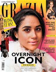 Grazia issue 11th December 2017