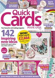 Quick Cards Made Easy issue December 2017