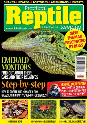 Practical Reptile Keeping issue December 2017