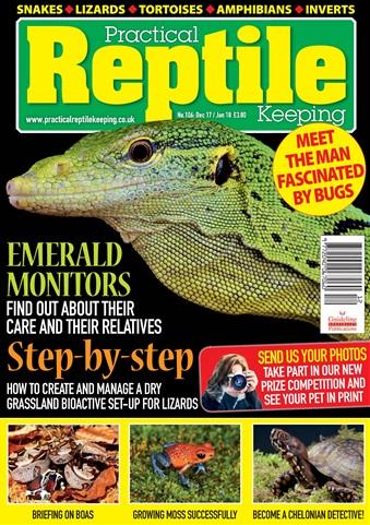 Practical Reptile Keeping issue Jan - Dec 2017