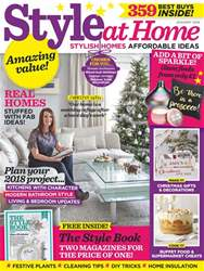 Style at Home issue January 2018