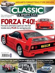 Classic & Sports Car issue January 2018