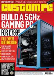 Custom PC UK Magazine Cover