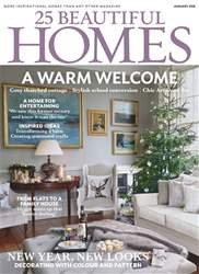 25 Beautiful Homes issue January 2018