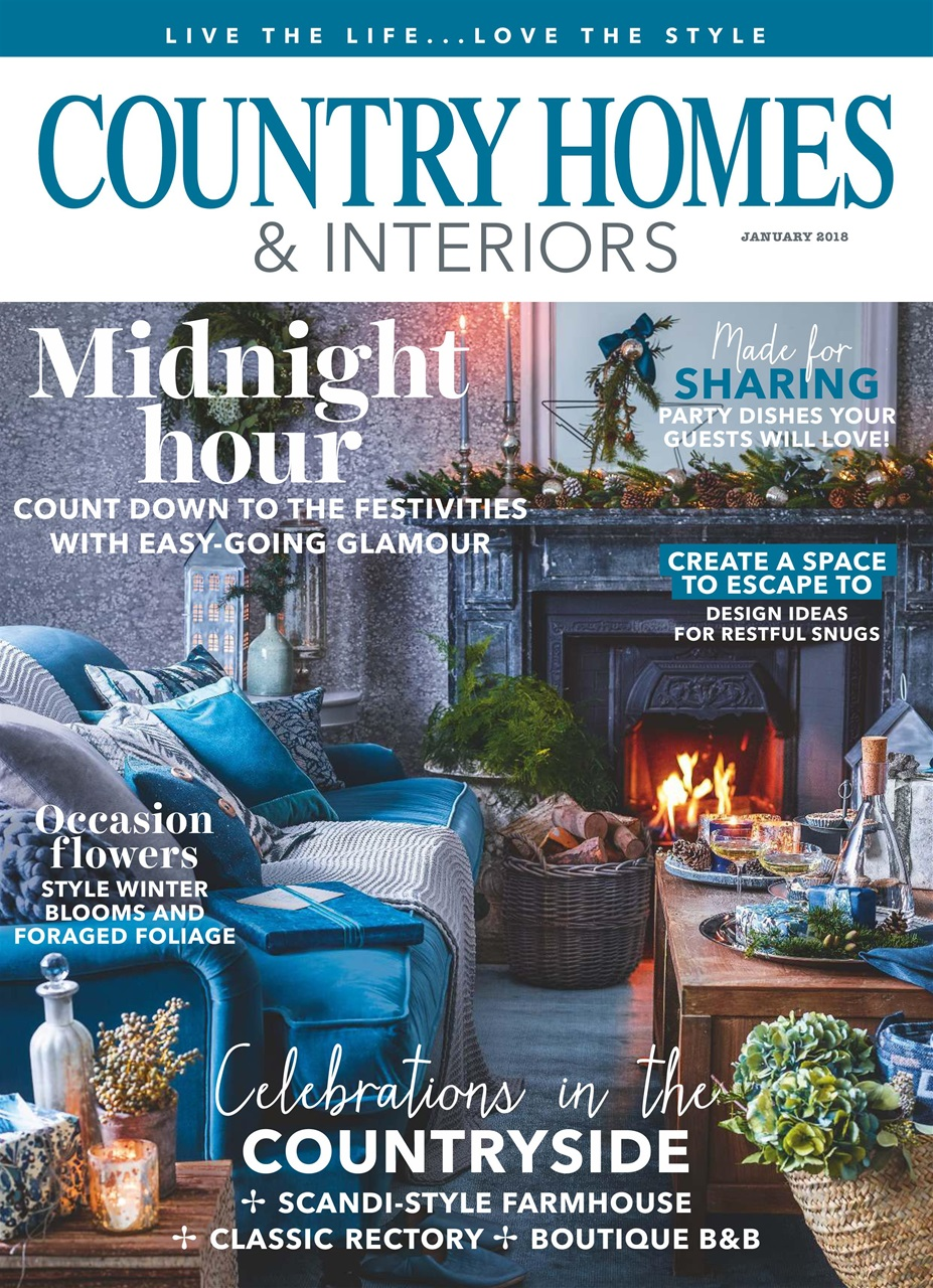 Country Homes Interiors Magazine January 2018 Subscriptions Pocketmags