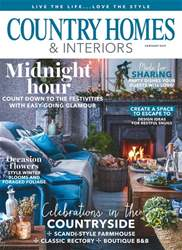 Country Homes & Interiors issue January 2018