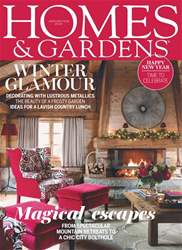 Homes & Gardens issue January 2018
