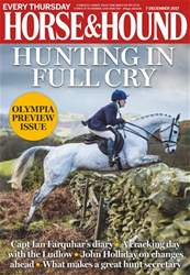 Horse & Hound issue 7th December 2017