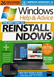 Windows Help & Advice issue January 2018