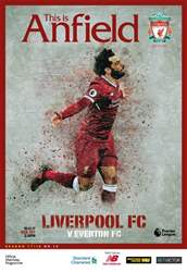 Liverpool FC Programmes issue vs Everton 17/18